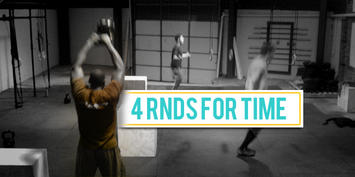 WOD 100411: 4 Rounds For Time