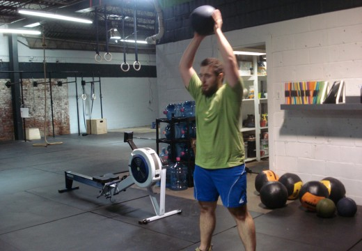 WOD 110311: Rope Climbs Run Double Unders Ball Slams