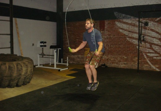 WOD 110711: Push Press Run