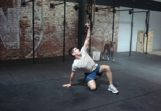WOD 111711: Kettlebell Power Snatches
