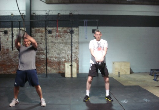 WOD 112111: Ring Dips KB Swings Mountain Climbers Pullups