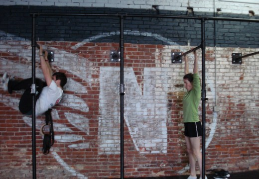 WOD 112811: Hang Power Cleans Knees to Elbows