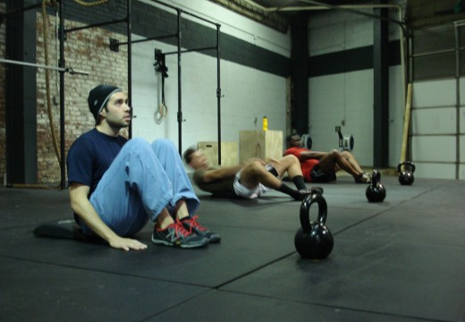 WOD 121311: Kettlebell and Situp Ladder