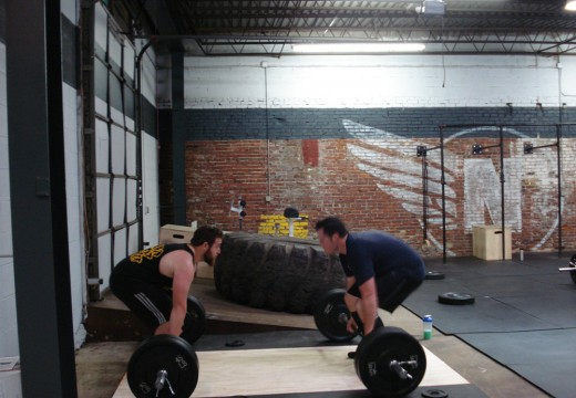 WOD 122111: Weighted Pullup Deadlift Burpee