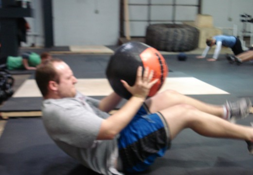 WOD 011312: Snatches Situp and Press Clapping Pushups