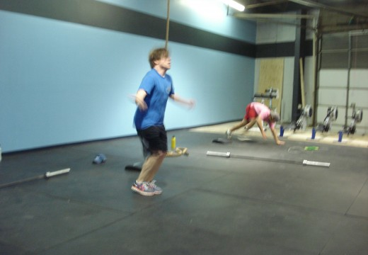 WOD 032812: 2 Rounds