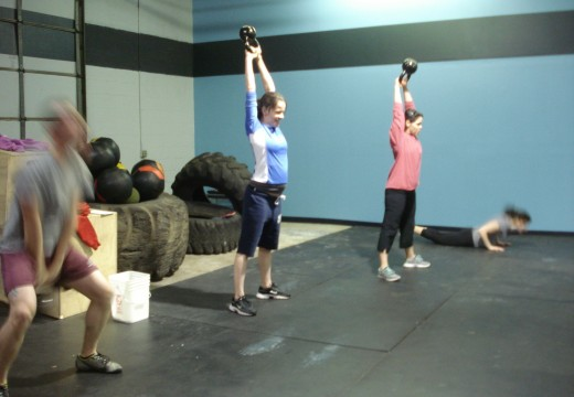WOD 040212: 5 Rounds
