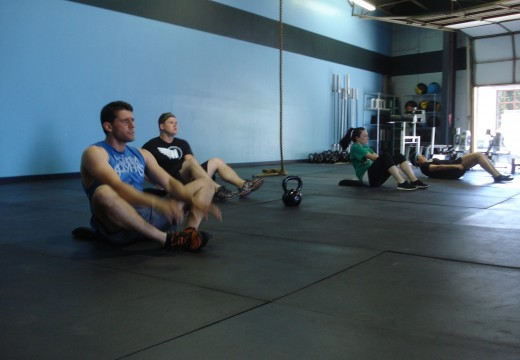 WOD 051812: Return of Racked Lunges