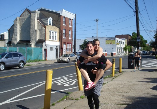 WOD 051912: Carry your Friend!