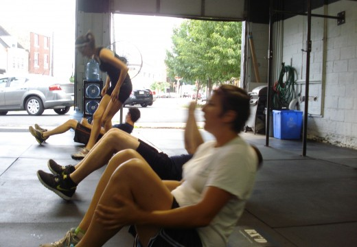 WOD 053012: Front Squats and Sprints