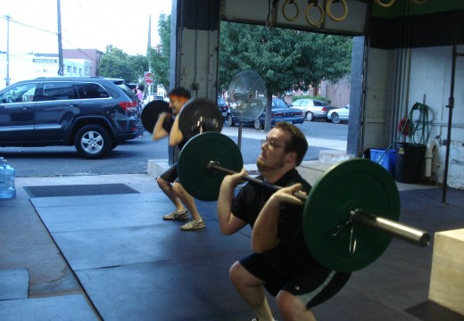 WOD 071112: Front Squats and AMRAPs