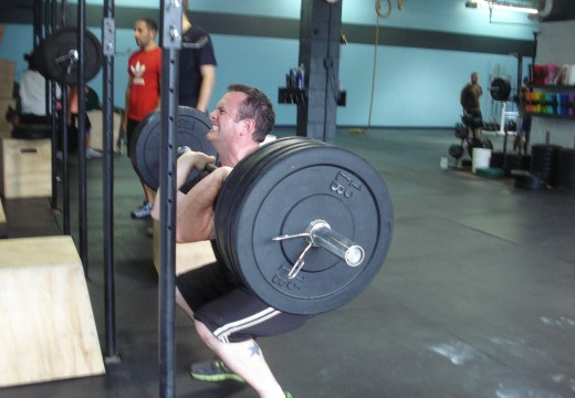 WOD 072312: Front Squats and Broad Jump Burpees