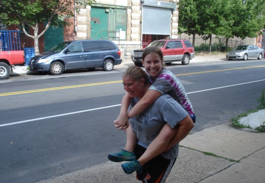 WOD 081112: Carry your Friend