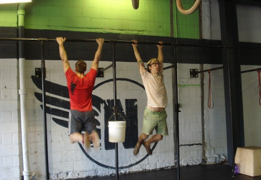 WOD: 082612 Deadlifts and Then a quick AMRAP