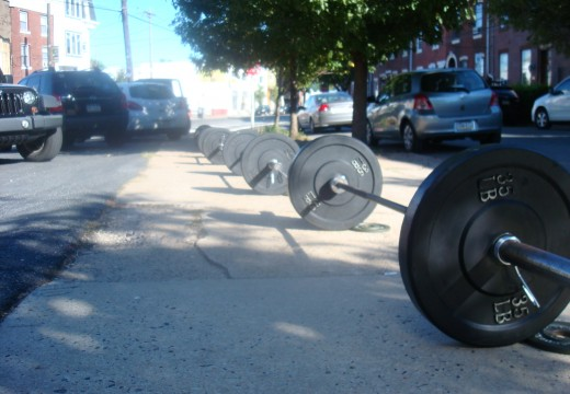 WOD 091512: Boom-town in the Parking Lot!
