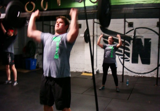 WOD 100112: Clean It Up, Push It Up