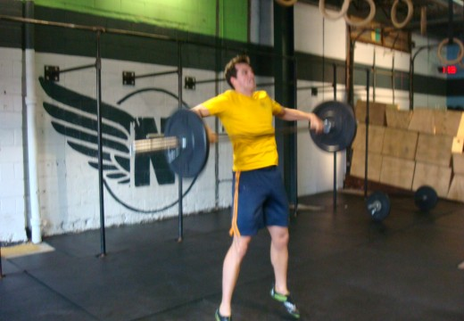 WOD 102412: That's A Lot Of Snatches!