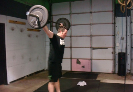 WOD 110812: Hang Snatches