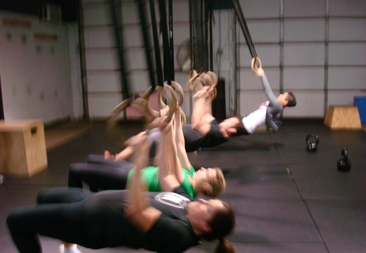 WOD 121112: Racked Lunges