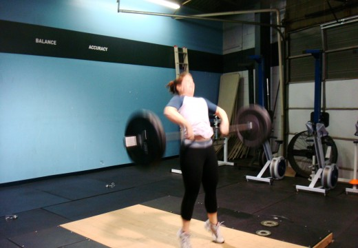 WOD 122312: High Pulls and Applesauce