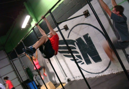 WOD 123012: Med Ball Cleans!