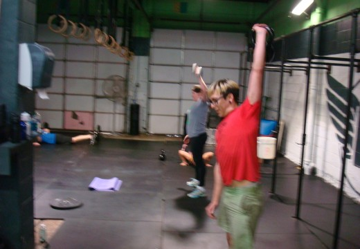 WOD 011213: One Arm Snatches!