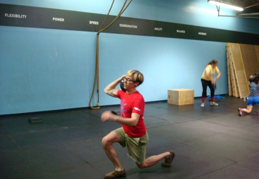 WOD 020213: Lunging Relay