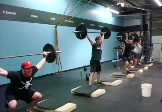 WOD 022013: New PR's and Planks