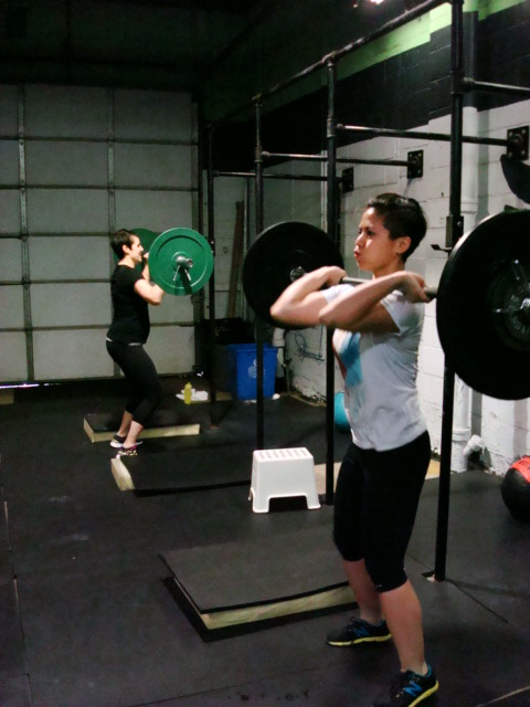 WOD 030313: Push Pressing a different way