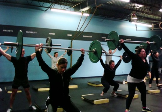 WOD 032513: Working Hard For That Rest