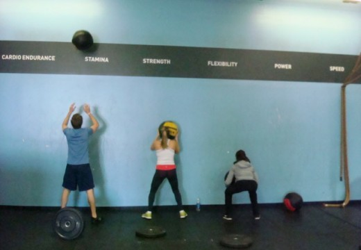 WOD 040713: Ground to Overhead Plate Style!