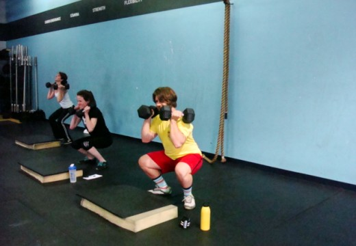 WOD 051013: Everyone loves a good thruster!