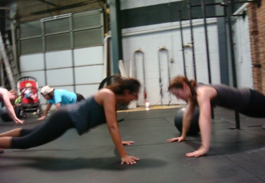 WOD 061513: Clapping Partner Push Ups