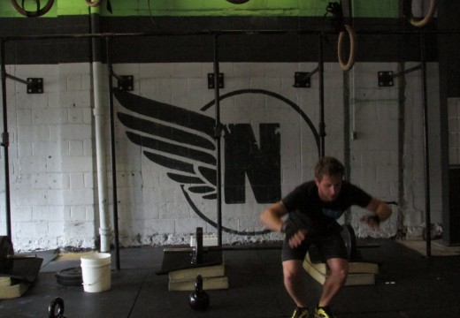 WOD 071013: Thrusters Equal Love
