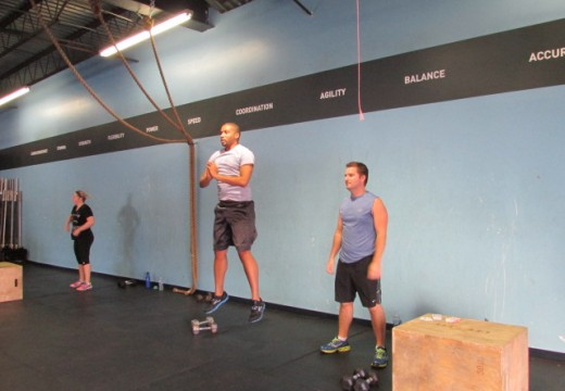 WOD 081413: Split Jerks and Cleans