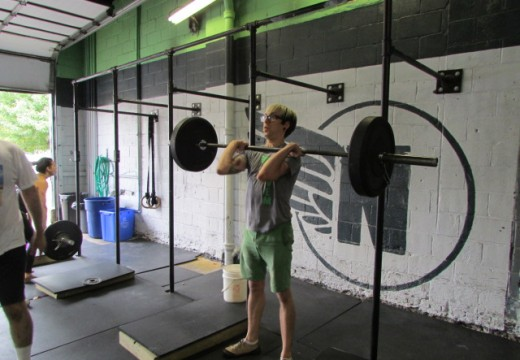 WOD 100613: Picking Up Heavy Objects