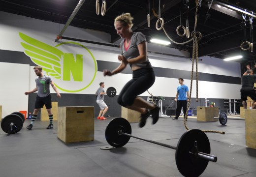 WOD 111713: Grand Opening Throw Down