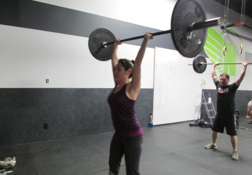 WOD 120313: Shoulders and Core
