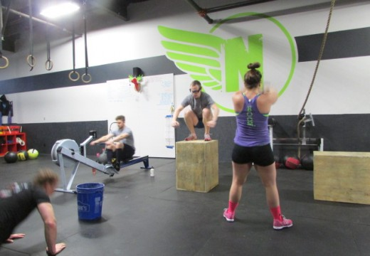 WOD 011114: Team Ho-Down