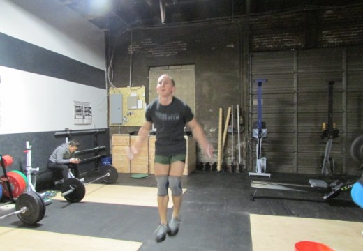 WOD 011413: HEAVY Front Squats