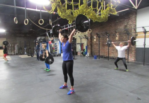 WOD 012314: Power Snatches and Jumps
