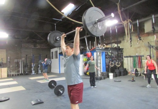WOD 020114: Racked Lunges and Much More