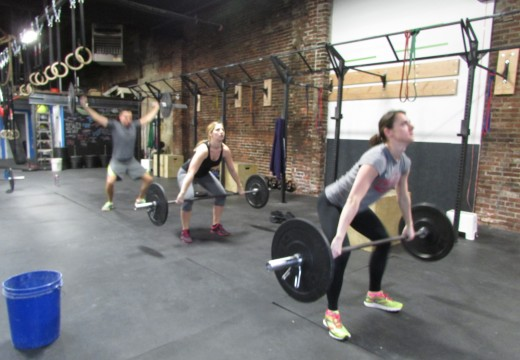 WOD 021914: Descending Snatch Ladder