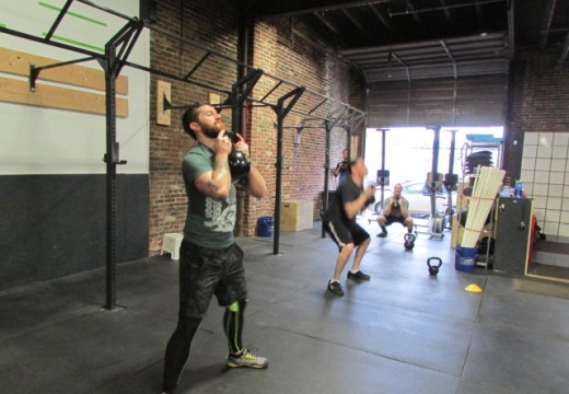 WOD 032914: Lunge Relay