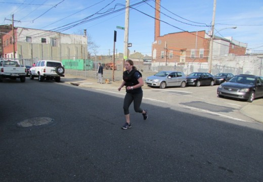 WOD 040814: From that day on, if I was going somewhere, I was RUNNING!