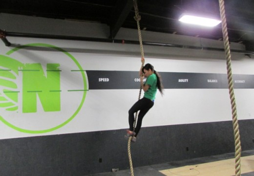 WOD 041614: Climbing is as Close as We Can Come to Flying