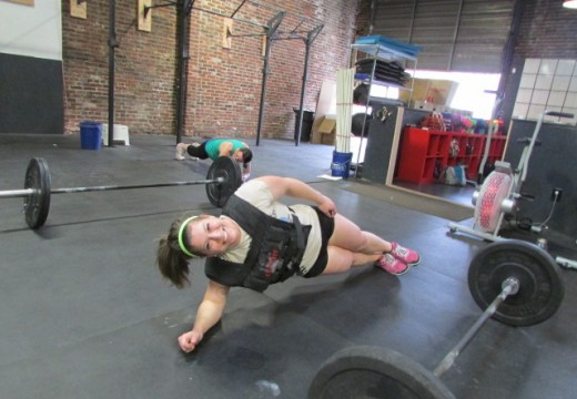WOD 042214: You think you're strong… and then you do planks