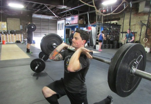 WOD 050114: Nothing Gives You a Sore Booty Like a Racked Lunge!!
