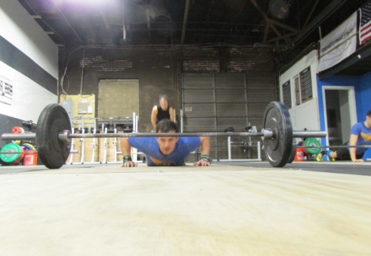 WOD 050514: Better hold onto that bar… We're giving out burpee penalties today!