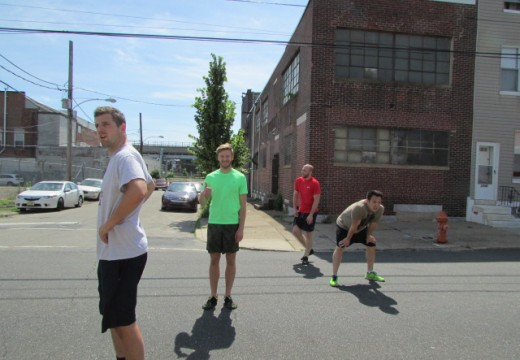 WOD 060814: Sprints?  Does it count if we're chasing the ice cream truck??!
